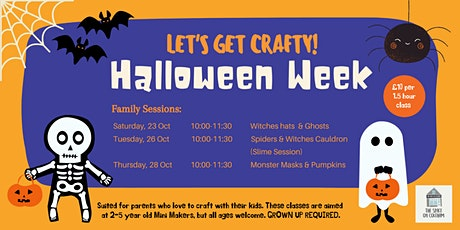 Halloween Week: Family Sessions tickets