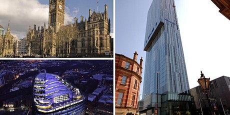 """Expert Official """"Discover Manchester"""" FREE tour with Ed Glinert tickets"""