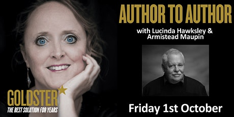 Goldster Author to Author -  Armistead Maupin talk with Lucinda Hawksley tickets