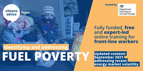 Identifying & Addressing Fuel Poverty: Practical, frontline worker training tickets