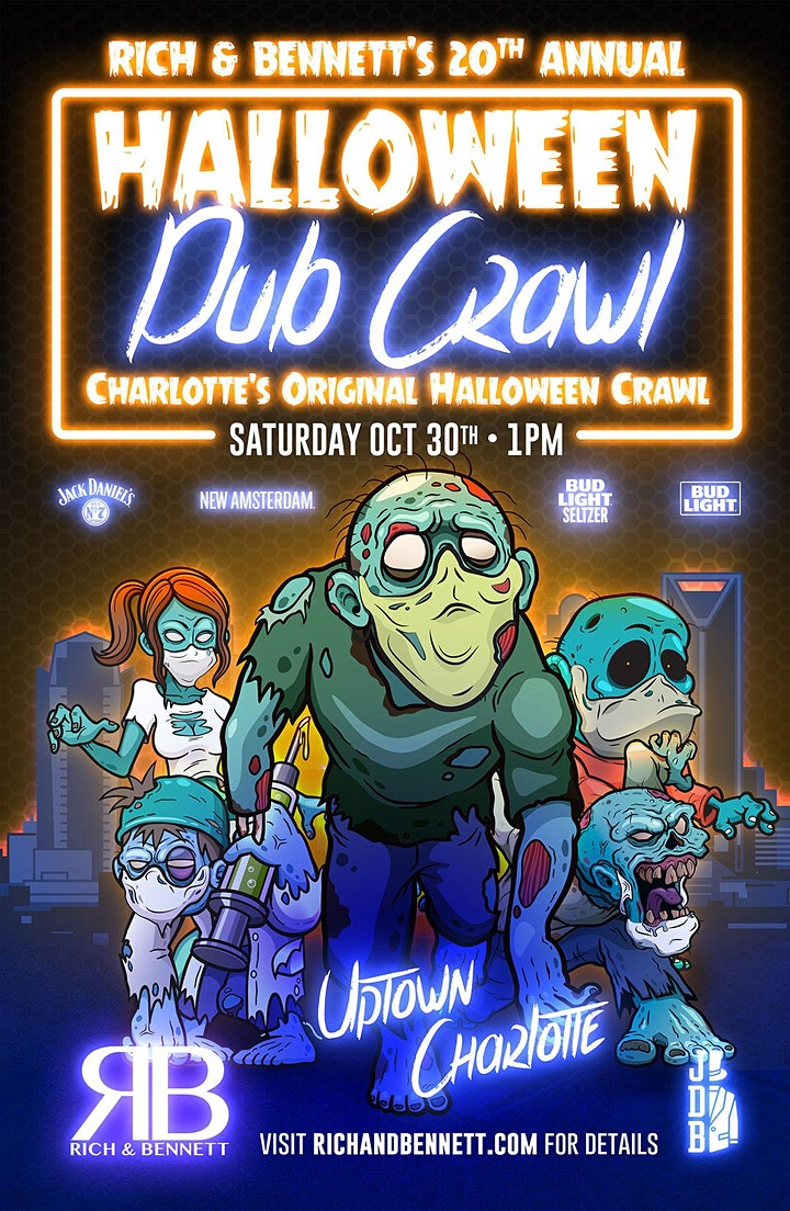 Rich & Bennett's 20th Annual Halloween Pub Crawl image
