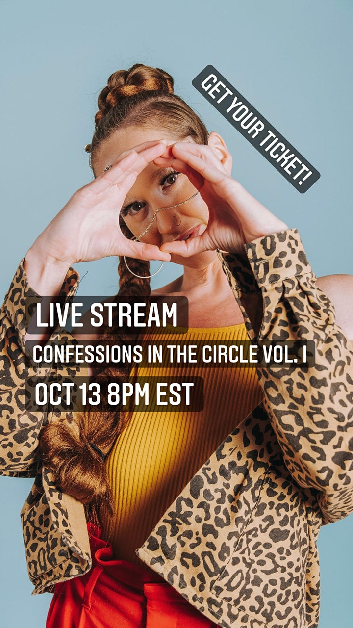 Live Stream Concert: Confessions in the Circle Vol. I image