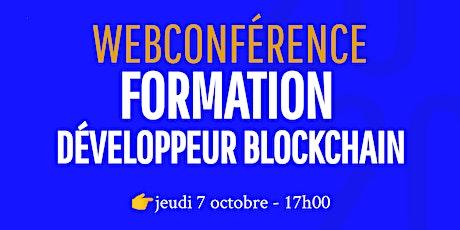 Webconférence - Découvrir les formations blockchain avec Alyra - 7 oct. billets