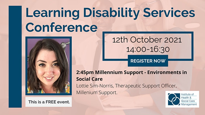 IHSCM Learning Disability Services Conference image