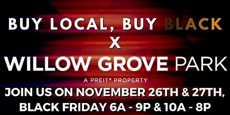 November #BlackFridayWeekend - Willow Grove Mall x BLBB Pop Up Shop! tickets