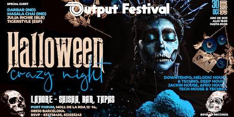Output Halloween Festival entradas