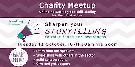 Charity Meetup Birmingham - Sharpen Your Storytelling tickets