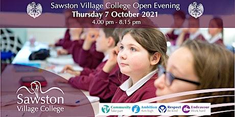 Sawston Village College Open Evening 2021 tickets