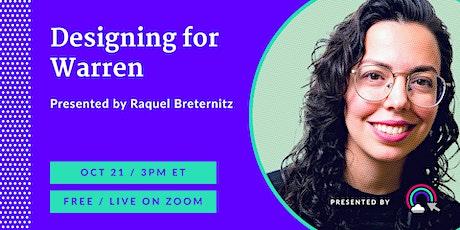Queer Design Chats: Raquel Breternitz tickets