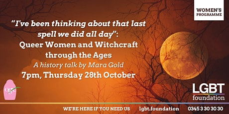 Queer Women and  Witchcraft through the ages: Women's Programme tickets