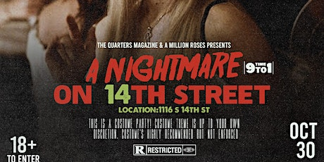 Nightmare On 14th St. tickets