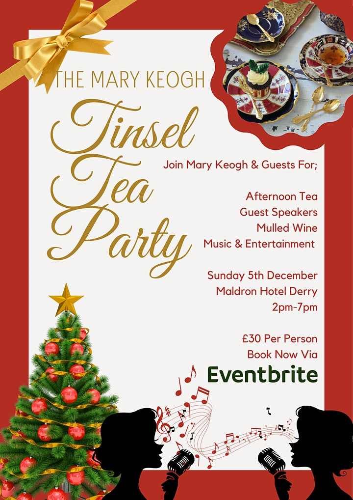 The Mary Keogh Tinsel & Tea Party image