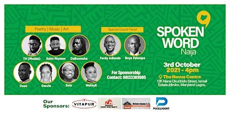 Spokenword Naija tickets
