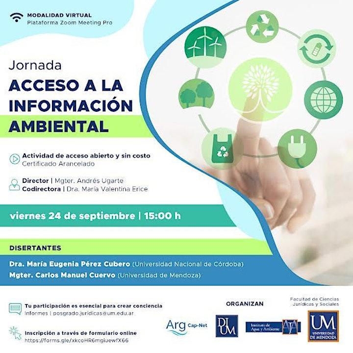 Imagen de Jornada de Acceso a la Información Ambiental