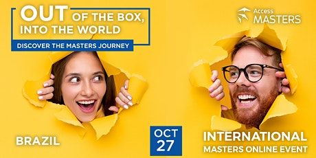Masters Online Event Brazil tickets