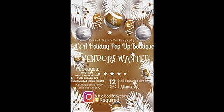 It's A Holiday Pop Up Boutique…. tickets