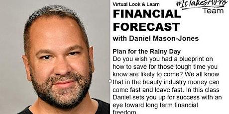FINANCIAL FORECAST-Plan for the rainy day with Daniel Mason-Jones tickets