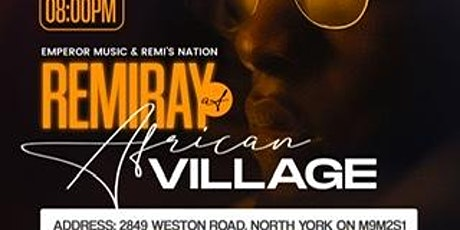 Remiray at African Village tickets