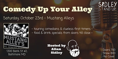 Mustang Alley's Open Mic Night [Stand-up Comedy] tickets