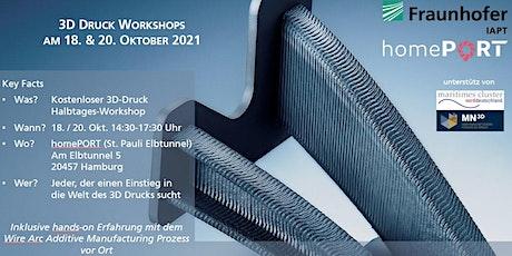 3D-Druck für die maritime Branche - Kostenloser Workshop tickets
