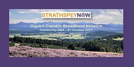 Gigabit-capable Broadband - Community Q&A tickets