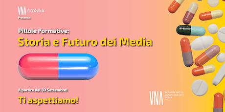 CORSO UNA FORMA - CICLO DALLA TV ALL'UBIQUITA' DEL  VIDEO biglietti