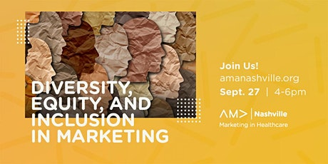 Diversity, Equity, and Inclusion in Marketing tickets