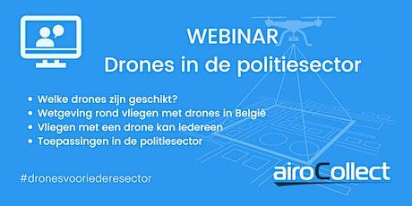Webinar: drones in de politiesector tickets