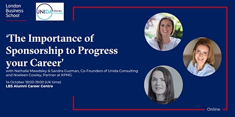 'The Importance of Sponsorship to Progress your Career' tickets