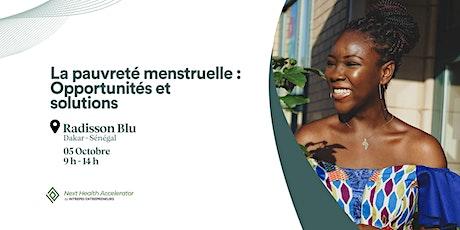 La pauvreté menstruelle : Opportunités et solutions billets