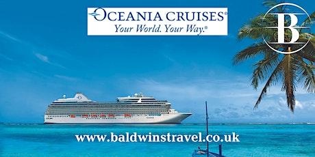 Oceania Cruises - Small Ship Luxury tickets