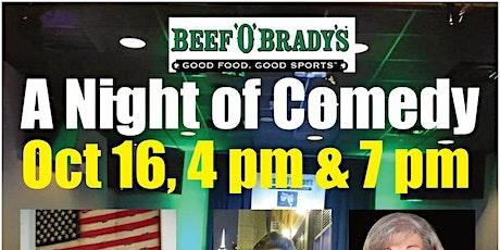 Beef'O'Brady's Comedy Night tickets