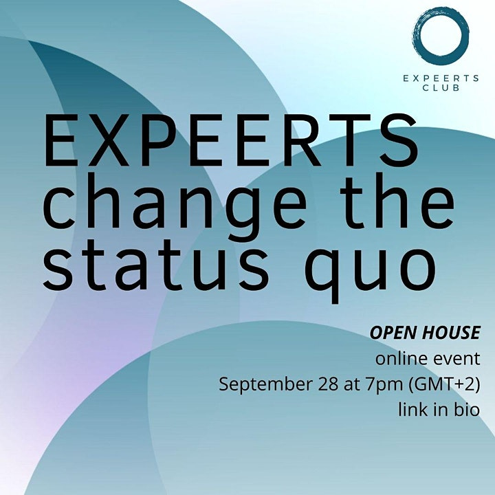 OPEN HOUSE at EXPEERTs.club  for impactful women worldwide image