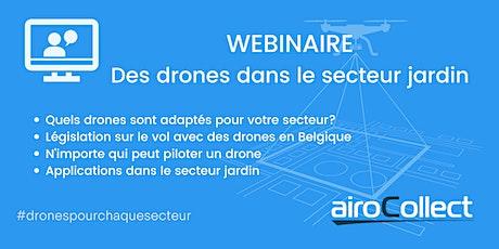 Webinaire: drones dans le secteur du jardinage tickets