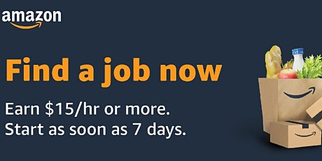 Amazon Workforce Staffing Virtual Information Session tickets