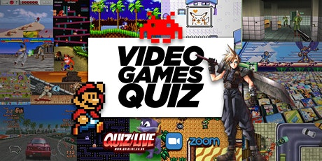 Video Games Quiz Live on Zoom tickets