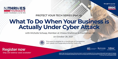 What To Do When Your Business is Actually Under Cyber Attack tickets