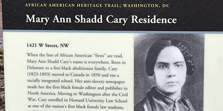 (Slideshow Tour) Mary Ann Shadd Carey/and her house in Washington, DC tickets