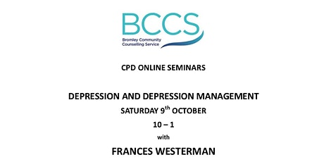 Depression and Depression Management tickets