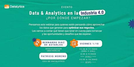 Data & Analytics en la Industria 4.0, ¿por dónde empezar? entradas