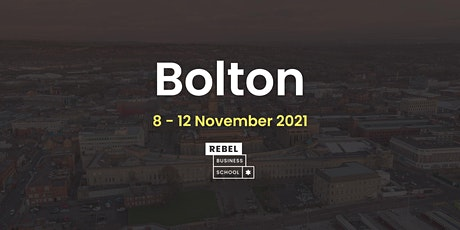 Bolton - Online Business Course November 2021 tickets