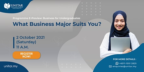 UNITAR: Business for Undergraduates Programme E-Preview Tickets