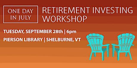 Retirement Investing Seminar tickets