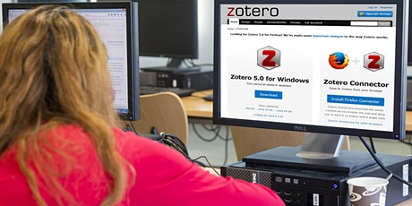 Ateliers libres Zotero - BU Belle Beille billets
