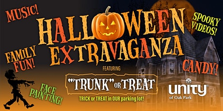 """Halloween EXTRAVAGANZA featuring """"Trunk or Treat"""" tickets"""