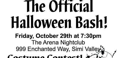 The Official Halloween Bash tickets