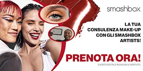 Consulenza makeup personalizzata e gratuita biglietti