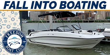 """""""Fall"""" into boating open house! tickets"""