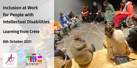 Inclusion at Work for People with Intellectual Disabilities tickets