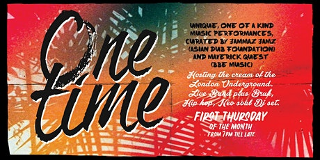 One Time - Jam Night at the Magic Garden tickets